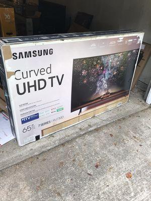 "*65"" In. Samsung Curved 7 Series 4K Smart Tv W/Wall Mount* for Sale in Stockbridge, GA"