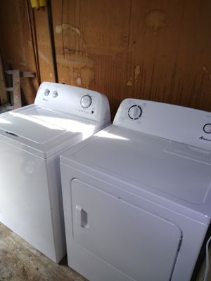 Amana washer and dryer for Sale in Sioux City, IA