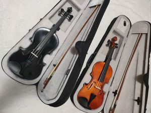 2 - 4/4 Full Set Acoustic Violin Sets for Sale in West Haven, CT