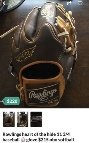 Baseball glove softball for Sale in Chino, CA