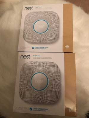 2x Nest Protect (2nd Generation) battery version for Sale in Herndon, VA