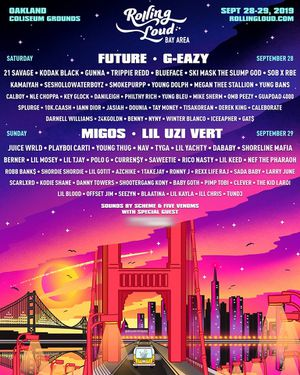 Rolling loud Bay Area wristband for Sale for Sale in San Luis Obispo, CA