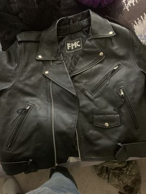 Leather jacket for Sale in Wenatchee, WA