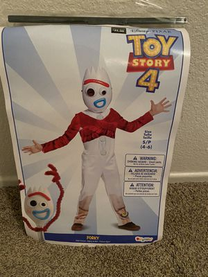 Kids Forky Costume from Toy Story size small 4-6 for Sale in Murrieta, CA