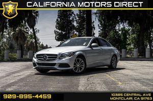 2016 Mercedes-Benz C-Class for Sale in Montclair, CA