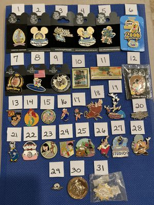 Pins Disney Pin Collection for Sale in Portola Hills, CA