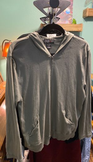 Women's size large army green hoodie jacket$4 for Sale in Las Vegas, NV