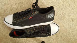 Levis sneakers in black..size 11 for Sale in Alexandria, VA