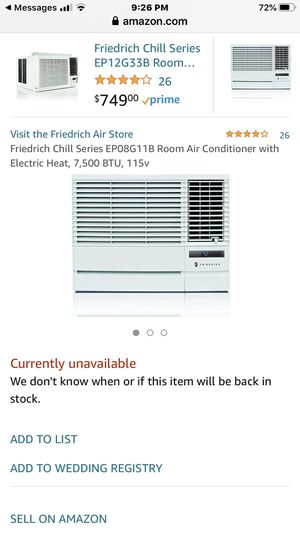 Air conditioning and heating unit for Sale in Riverside, CA
