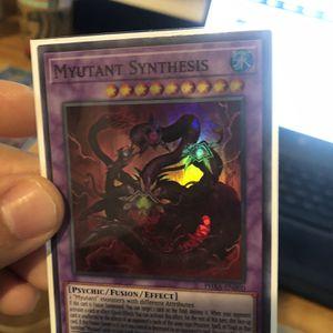 Yugioh Card Collection 1st Edition Super Rares Myutant Set for Sale in Diamond Bar, CA
