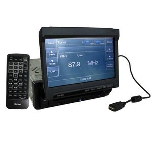 clarion vz401 car bluetooth usb cd stereo flip screen for Sale in Parlier, CA