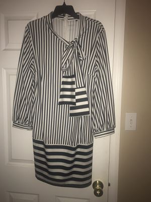 Brand New Women's Black and White Stripes Dress for Sale in St. Peters, MO