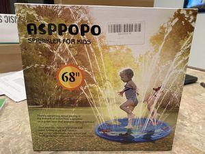 inflatable sprinkler splash pad for kids for Sale in Fort Worth, TX
