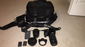 Canon Digital Rebel Xti with lenses for Sale in Knoxville, TN