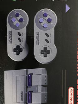 SUPER NINTENDO CLASSIC EDITION for Sale in Tualatin,  OR