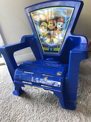 Blue paw petrol chair for kids for Sale in Kearny, NJ