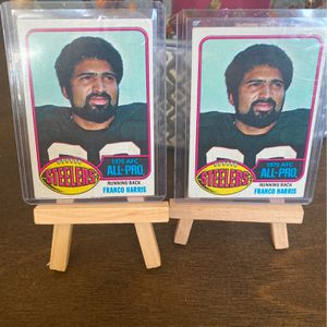 1976 Topps Franco Harris All-Pro #100 Pittsburgh Steelers RB Lot 2 for Sale in Virginia Beach, VA