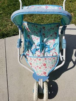 American Girl Bitty Baby Retired Double Doll Stroller for Sale in Sarasota, FL