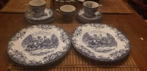 Johnson's brother's coach scenes plate collection for Sale in Columbia, SC