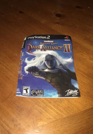 Baldurs Gate Dark Alliance II - Sony PS2 for Sale in Huntington Park, CA