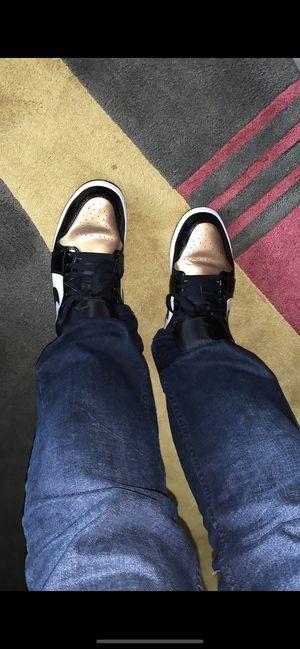 Jordan retro 1 golden toe lows for Sale in West McLean, VA