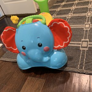 Elephant Fisher Price Ride On 3 In 1 for Sale in Leander, TX