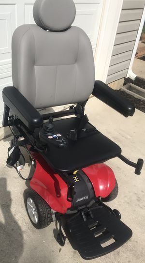 Jazzy Select Elite Red Electric Power Chair Mobility With Charger Adjust Legrest for Sale in Lexington, SC