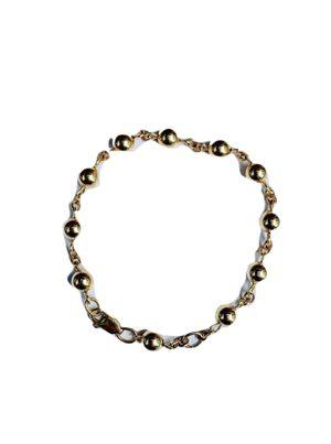 14k beaded bracelet for Sale in Alexandria, VA
