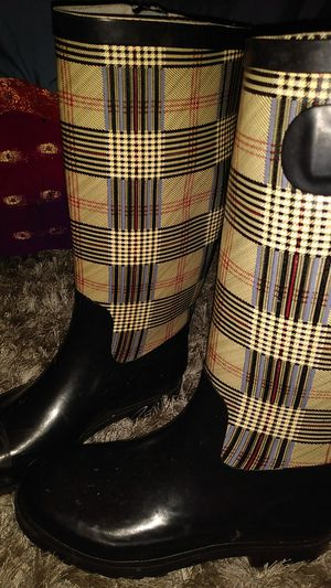 Rain boots size 8 womens for Sale in Fort Worth, TX