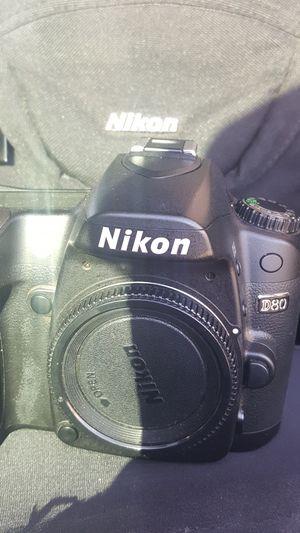 Nikon D80 digital camera for Sale in Las Vegas, NV