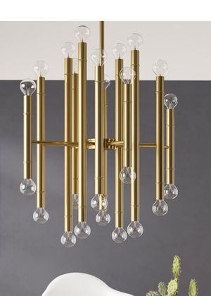 Beautiful! All Modern Mid Century 20 Bulb Deco Chandelier for Sale in North Las Vegas, NV