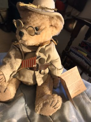 Teddy Rosevelt Bear Presidents Collection Rare Handma for Sale in Silver Spring, MD