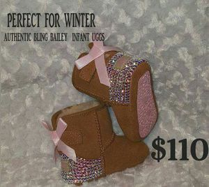 Authentic Infant Bling UGGS order yours for Sale in Columbus, OH
