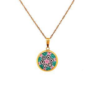 18k/10k Circular Flower Necklace for Sale in Woodbridge, VA