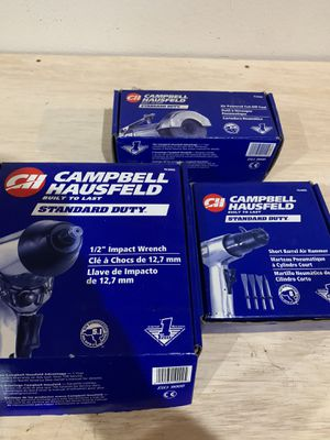 Campbell Hausfeld air powered tools for Sale in Tualatin, OR