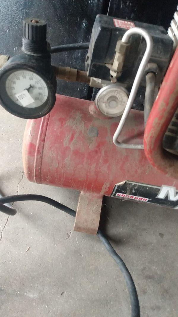 Sanborn magna force compressor