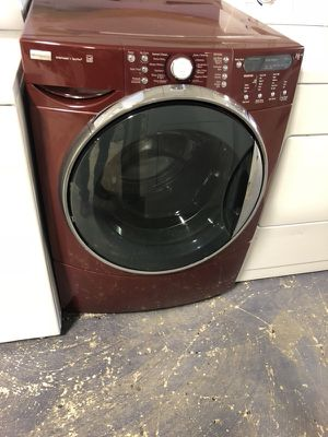"27"" kenmore elite front load washer with warranty for Sale in Woodbridge, VA"