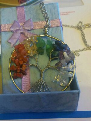 Tree of Life pendant with chain for Sale in Las Vegas, NV