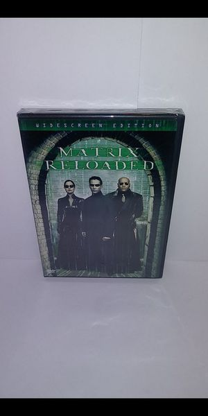 Matrix Reloaded widescreen edition DVD new sealed for Sale in San Antonio, TX