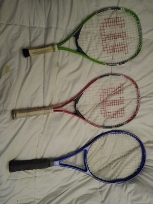 Wilson tennis rackets for Sale in Lynnwood, WA