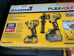 Dewalt max xr brushless impact and drill combo set for Sale in Brighton, CO