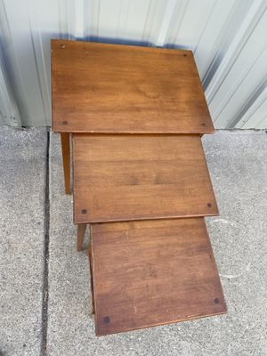 Nesting tables for Sale in Oakland, CA