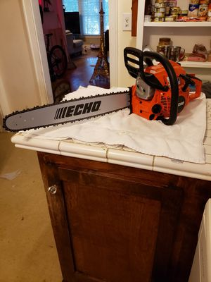 """ECHOECHO CHAINSAW CS-501P with 20"""" bar for Sale in Bakersfield, CA"""