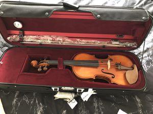 Otto Benjamin Violin 4/4 ML300 W/ pernambuco bow, oblong case for Sale in Herndon, VA