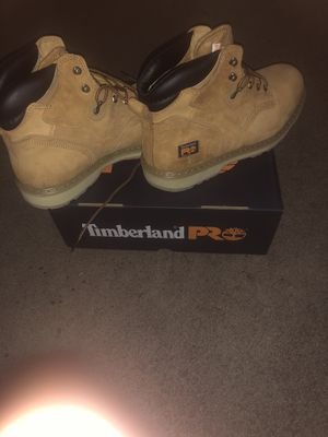 """Timberland Pro steel toe work boot 6"""" size 12 for Sale in Bexley, OH"""
