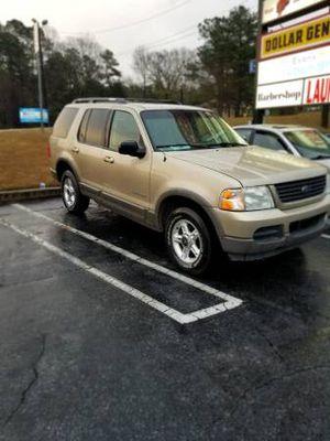 2002 Ford Explorer XLT for Sale in Marietta, GA