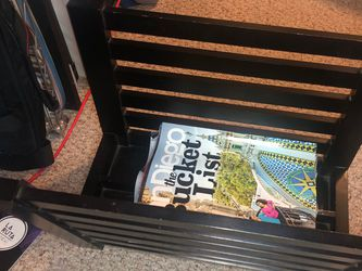 Magazine Rack (espresso) for Sale in San Diego,  CA