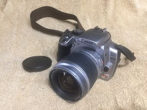 Canon EOS Rebel XT 8 mp digital camera with 28-90 Zoom lens for Sale in Richardson, TX