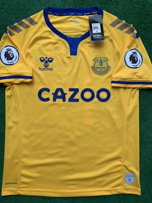 2020/21 Everton FC away soccer jersey for Sale in Raleigh, NC
