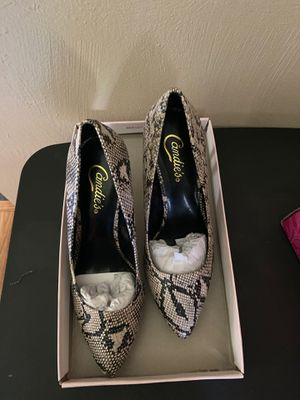 Women's size 8.5 Candies Cadominicasnake High Heels NIB for Sale in Aliquippa, PA
